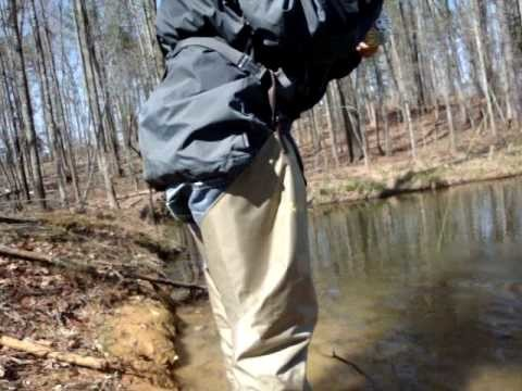 fly fishing for bream in early spring