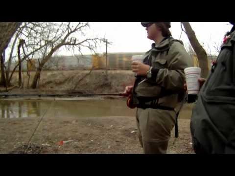 Fly fishing for Ontario steelhead
