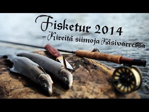 TAIMENEN JA HARJUKSEN KALASTUSTA LAPISSA 2014 (ENG SUBS) – Trout and Grayling Fishing in Lapland