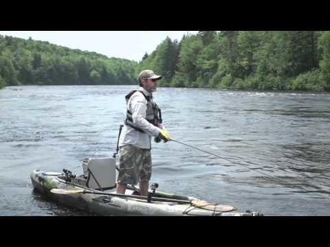 Kayak Fly Fishing New Hampshire