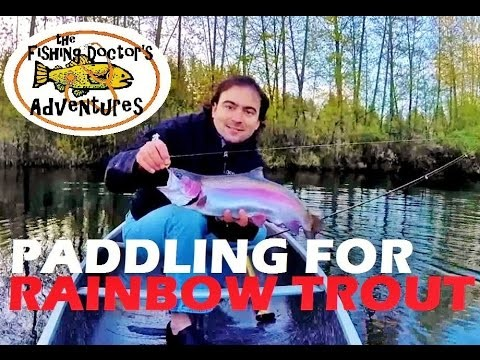 How to Fishing: Paddle a Canoe for Rainbow Trout