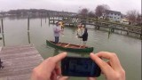 Merrimack Canoes:  Stable and Handcrafted Canoes, Fly Fishing Canoe