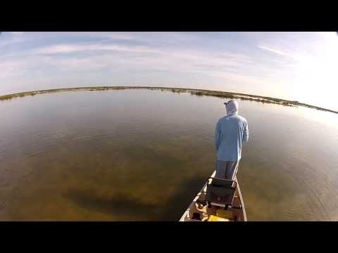 Canoe fly fishing in Mosquito Lagoon…teaser.
