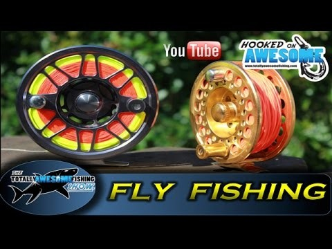 Fly fishing for beginners | Attaching fly line to reel – TAFishing Show