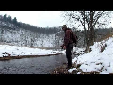 Winter Trout Fishing Catch and Release
