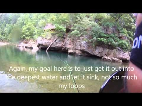 Fly Fishing Trout in slow deep water with streamers, TFO BVK Rod