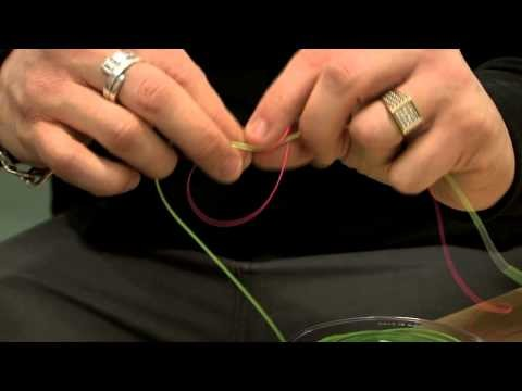 Beginners Guide, Attaching a Fly Line