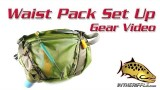 Setting Up Your New Fly Fishing Waist Pack or Chest Pack