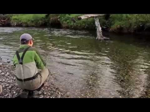 Fishing with Rod: Drifting & fly fishing on the Elk
