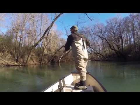 Trip Report – Fly Fishing Winter Musky on the Collins River & Caney Fork