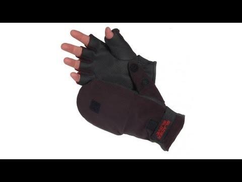 Glacier Glove Alaska River Flip Mitten Fly Fishing Gloves