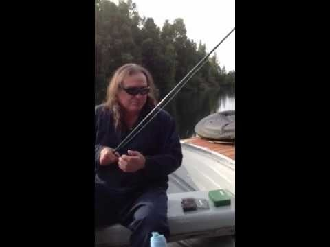 LaKomski sue and jeff fly fishing part I cranky pants