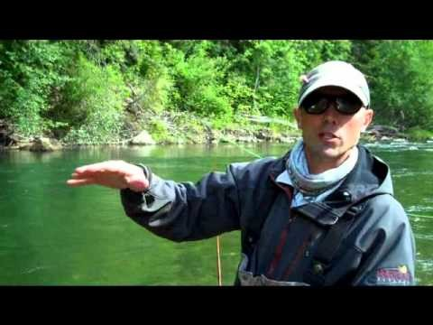 Streamer Fishing on a Floating Line While Wading – Sage FLIGHT Rod