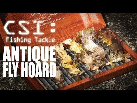 Antique Fly Fishing Hoard – Fishing Britain CSI Tackle