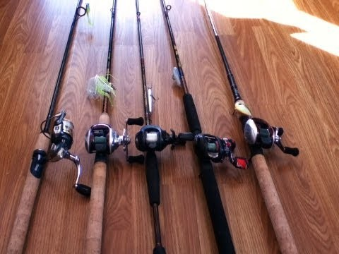 Rod & Reel combos for 2013