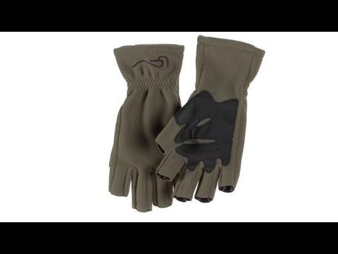 Chota Fingerless Fly Fishing Fleece Gloves
