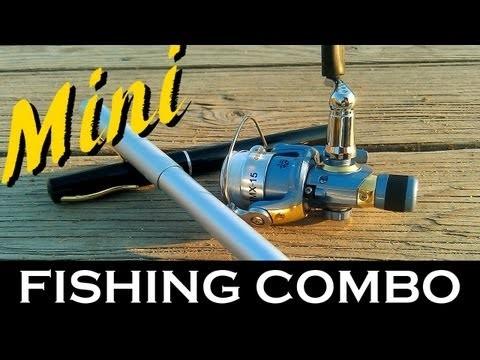 Mini Fishing Rod & Reel Combo from Penfishingrods.com