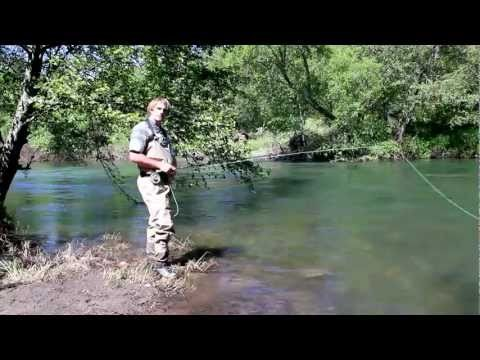 Fly Fishing Instruction – How to Dry Fly Fish for Trout