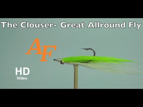 Clouser Fly Tying Fly Fishing – Andy Thomsen How to tie a fly EP.41