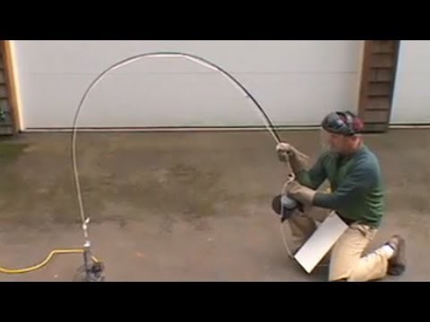 Watch Tim Rajeff test the strength of a fly fishing rod from Fishtec