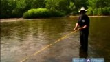 Fly Fishing: How to Cast a Line : Learn How to Strike & Set the Hook When Fly Fishing