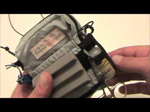 Inside my Ultralight Fly Fishing Pack