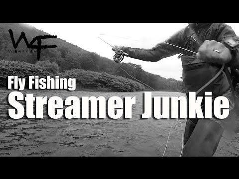"W4F – Fly Fishing ""Streamer Junkie"""