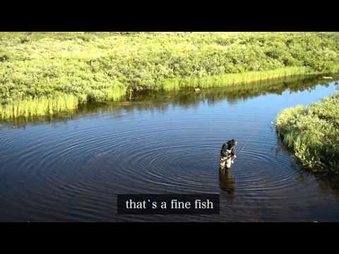 Amaizing fly fishing trip in Lapland in waders 2013 – Pesca a mosca in lapponia
