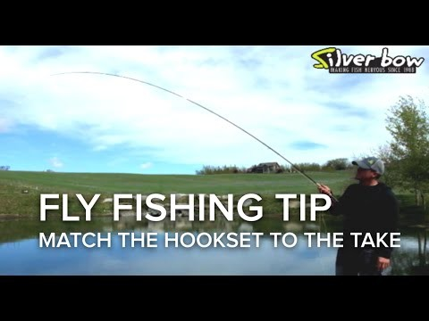 Fly Fishing Tip – Match the Hook Set to the Take