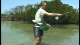 Fiska med linkorg – Fly fishing with line basket