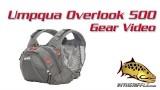 Umpqua Overlook 500 Fly Fishing Chest Pack