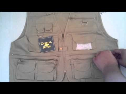 Crystal River Tan Fly Fishing Vest Review by MUDD CREEK