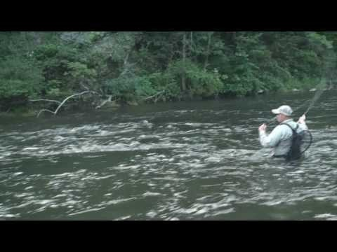 Down and Across Wet Fly Presentation – July 2009 TPO Tip of the Month