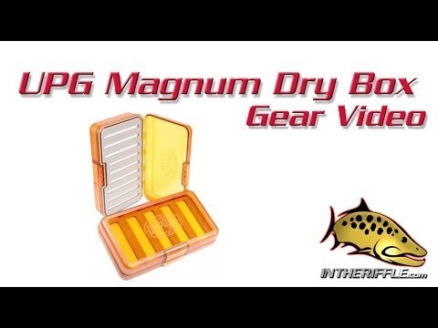 UPG Umpqua Guide Magnum Dry Fly Fishing Box