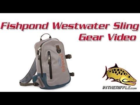 Fishpond Westwater Sling Fly Fishing Camera Waterproof Backpack