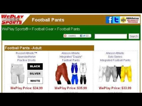 How-To Lace Football Pants