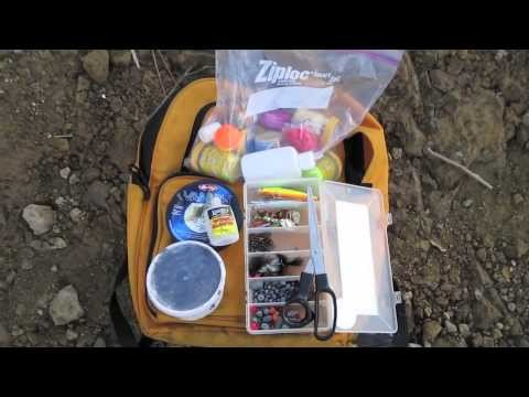Trout Fishing, The Bank Anglers Backpack.m4v